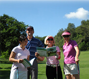 Intensive golf clinic and coaching for advanced player