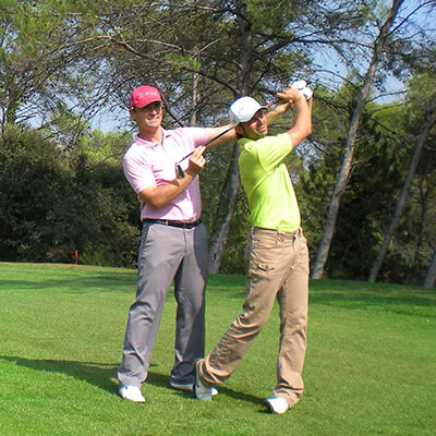 Golf teaching on the Côte d'azur