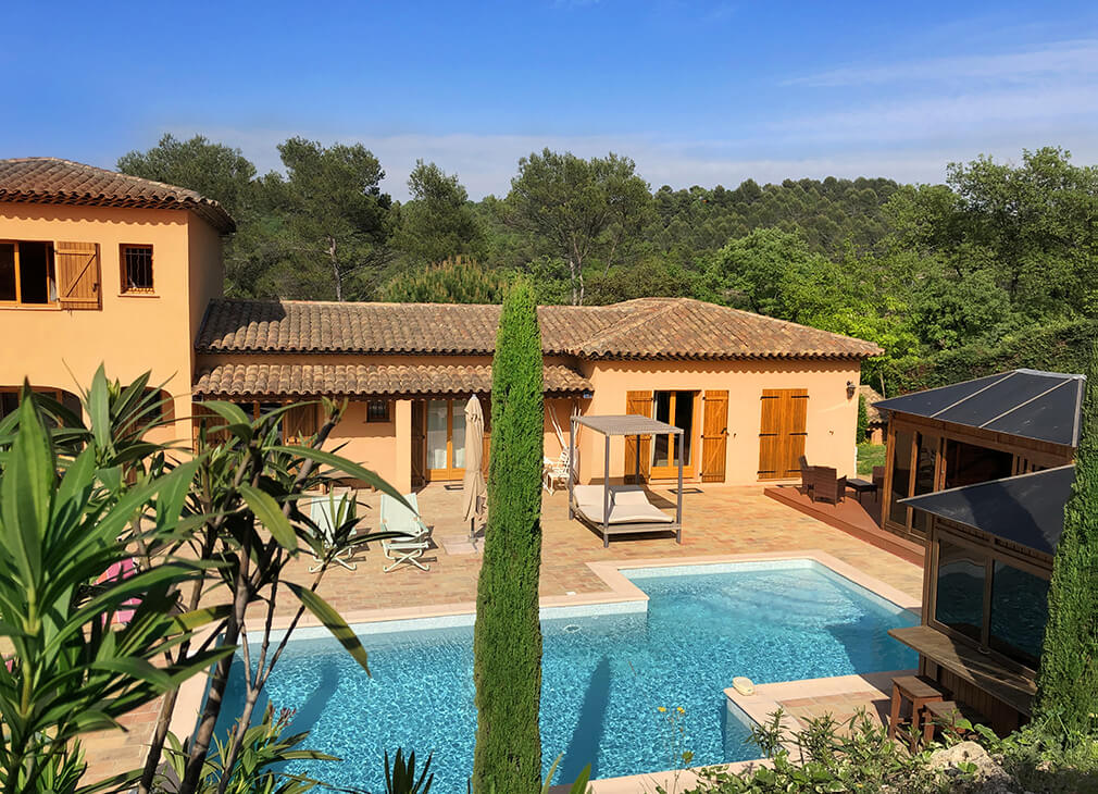 Bed and breakfast between Grasse and Mougins
