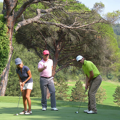 Weekend stay in the South of France with golf clinic